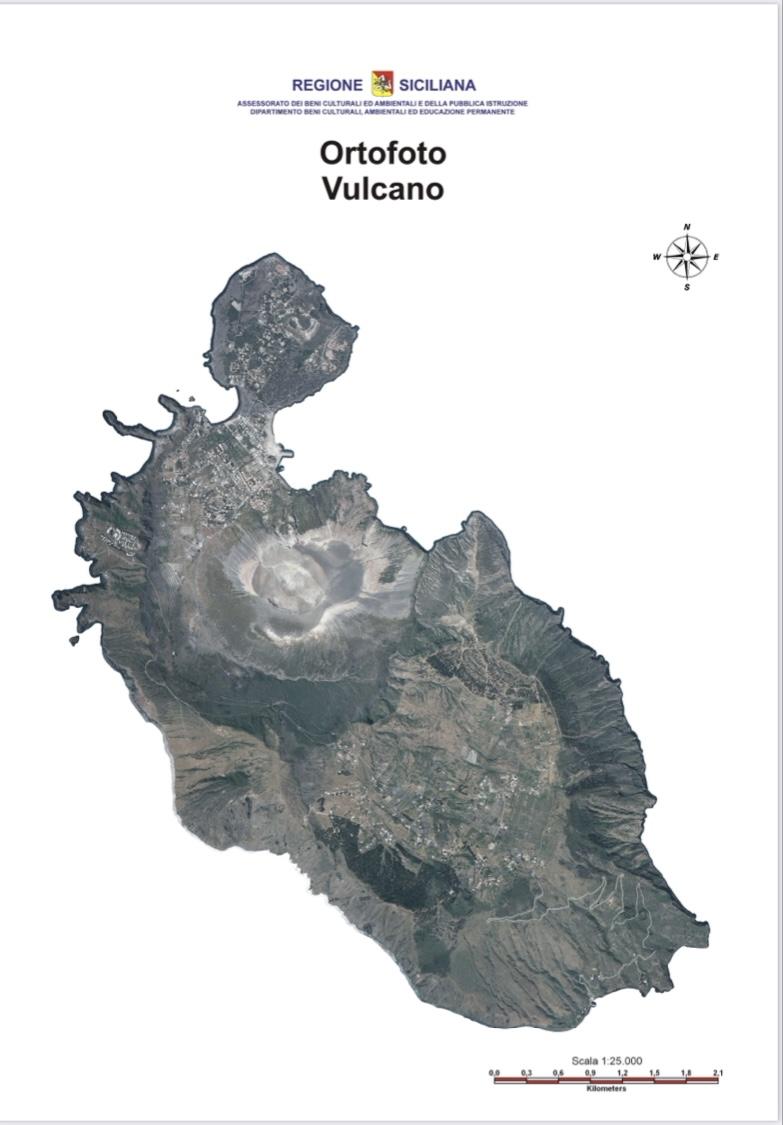 Isola di Vulcano. Dichiarata Allerta Gialla