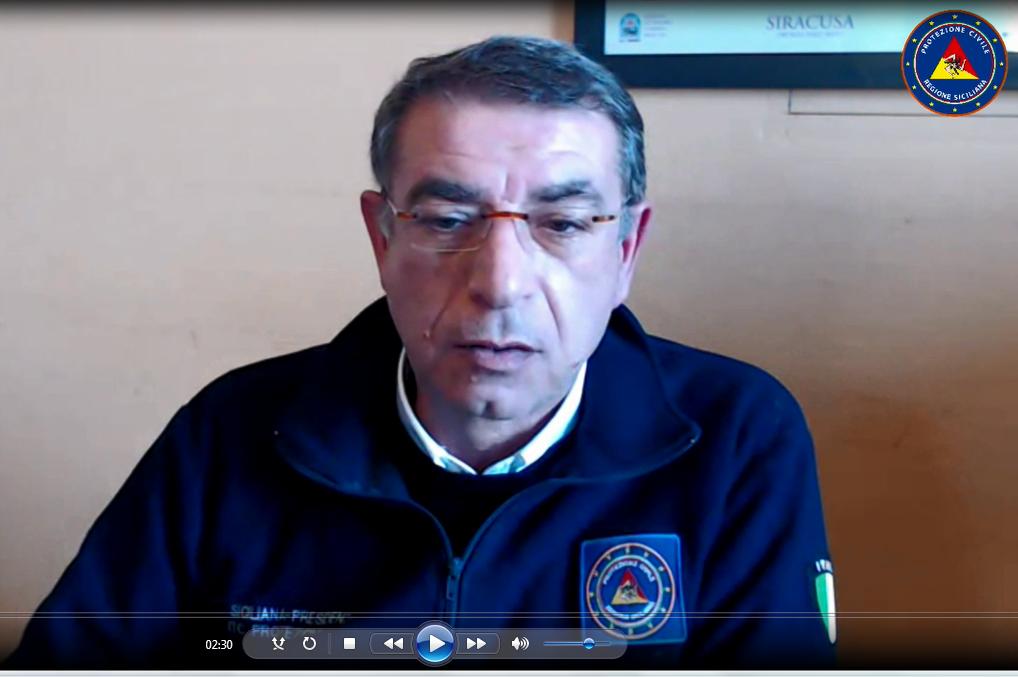 Coronavirus: un approccio nuovo all'emergenza. Intervista a Biagio Bellassai, coordinatore Emergenza COVID 19 per il DRPC Sicilia