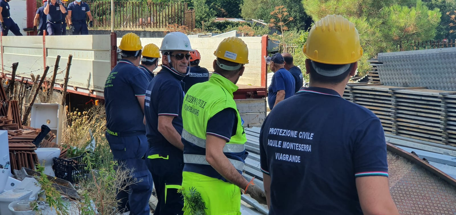San Giovanni La Punta, sarà installata una grande tensostruttura nella sede del Dipartimento regionale della Protezione Civile