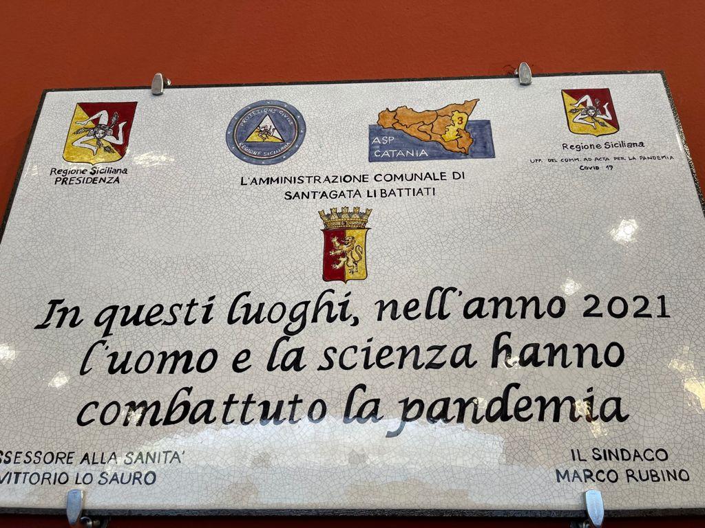 Sant'Agata li Battiati e Acireale, nono e decimo Hub vaccini aperti oggi tra i nuovi 20 previsti.