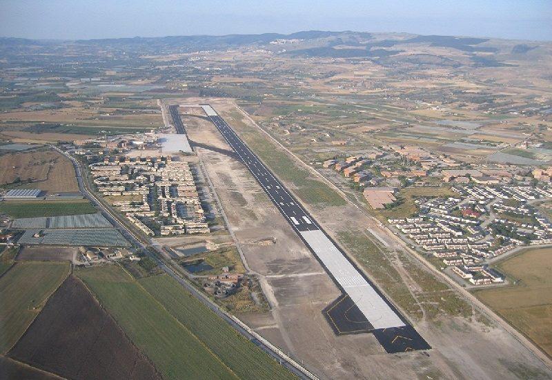 Aeroporto di Comiso il dipartimento regionale di protezione civile invia modulo prefabbricato